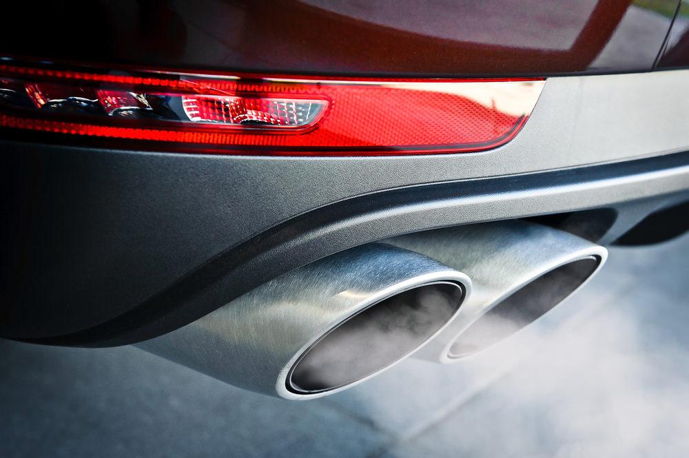exhaust pollutants