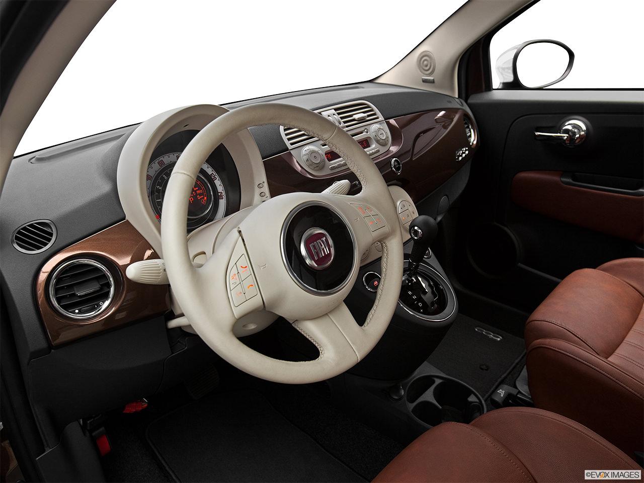 Fiat 500 2012 Interior