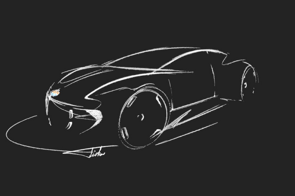 Fisker EV Sketch