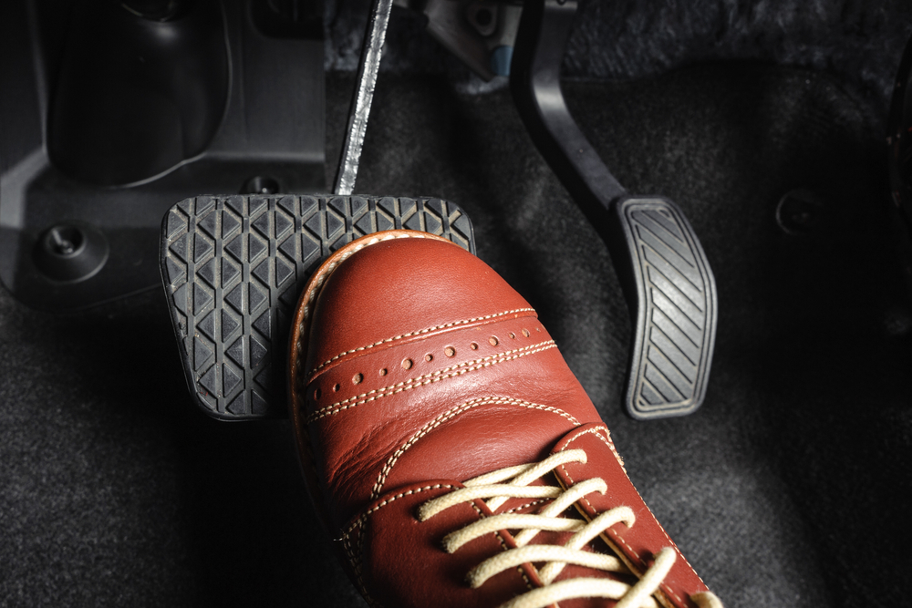 how to buy a good quality brake pedal pad advice from yourmechanic. Black Bedroom Furniture Sets. Home Design Ideas