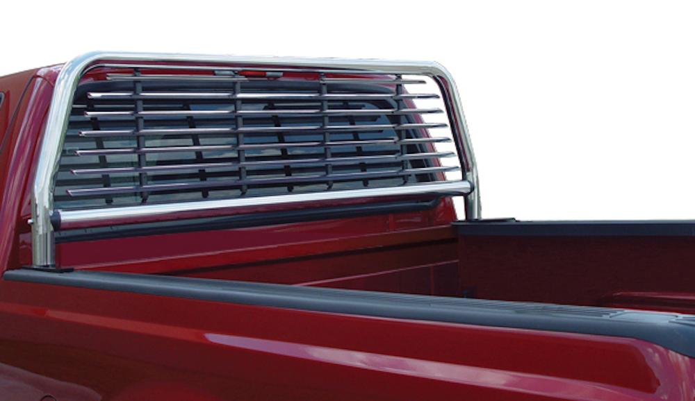 headache rack on a pickup truck