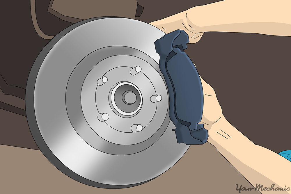When To Replace Brake Pads >> How To Change Front Brake Pads Yourmechanic Advice