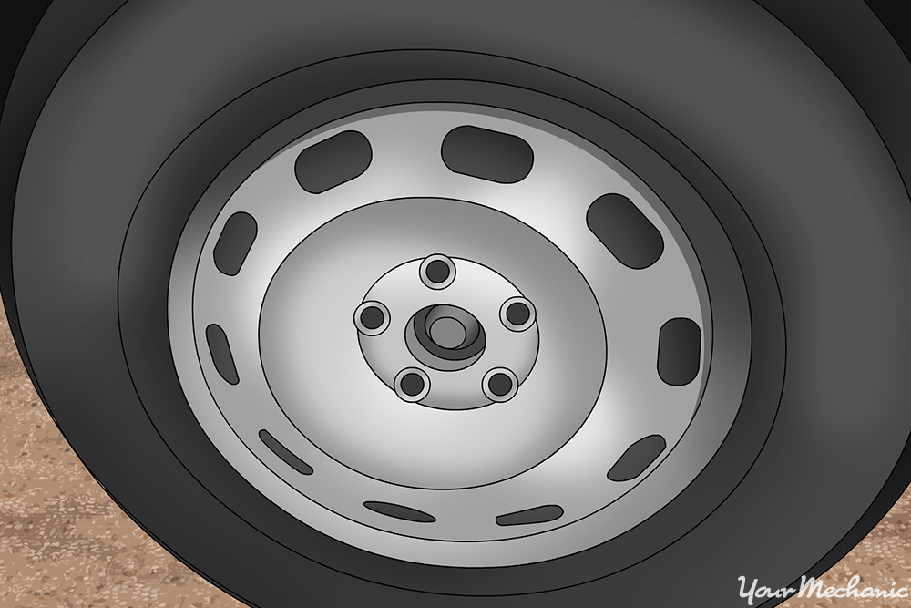 spare tires without lug nuts