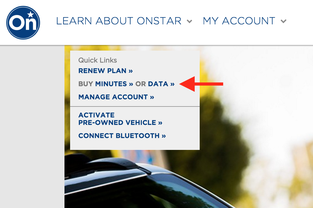 How Can I Gind A Onstar Car Number