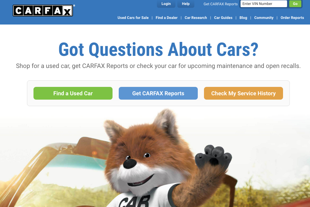 Free Car History Report >> How To Get A Free Carfax Yourmechanic Advice