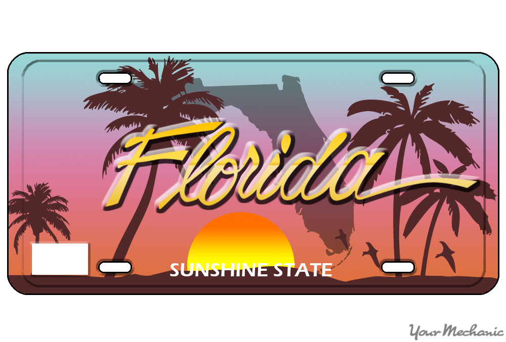 How To Buy A Personalized License Plate In Florida Yourmechanic Advice