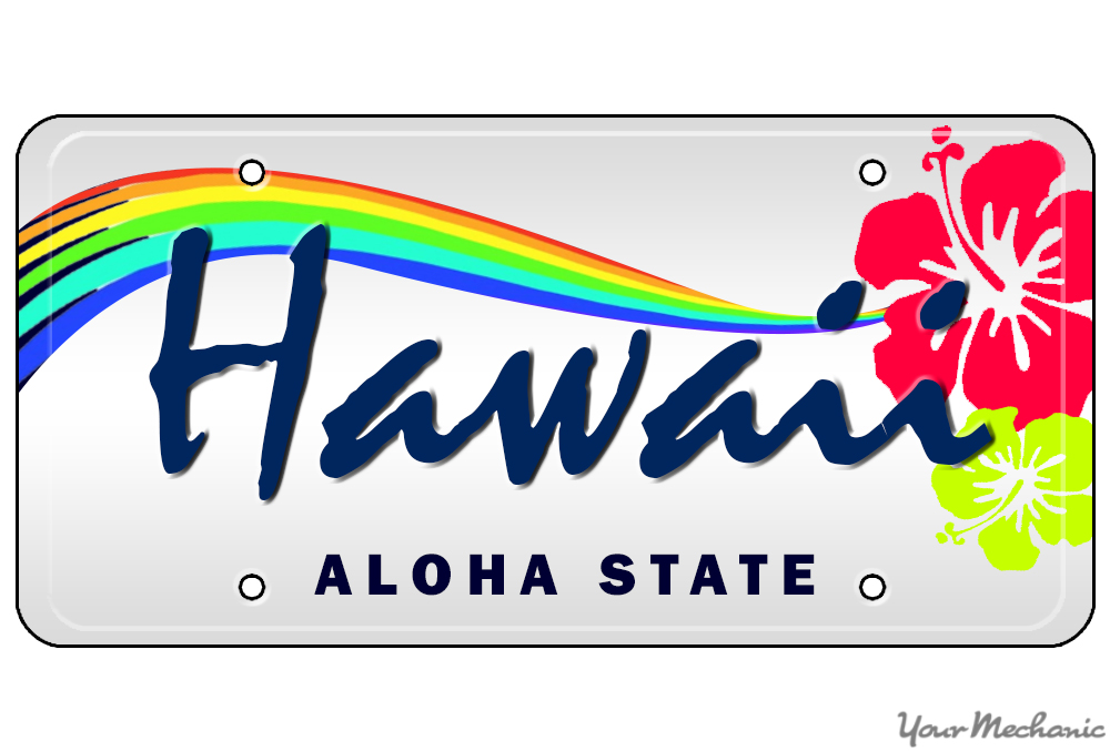 license plate in hawaii