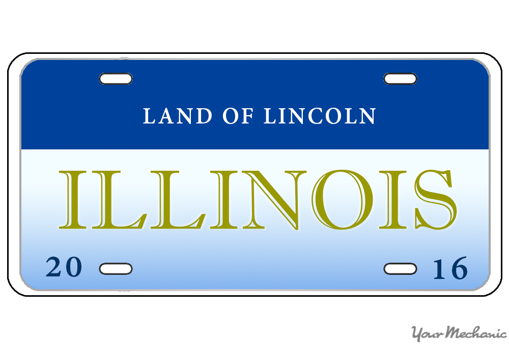 how to buy a personalized license plate in illinois | yourmechanic