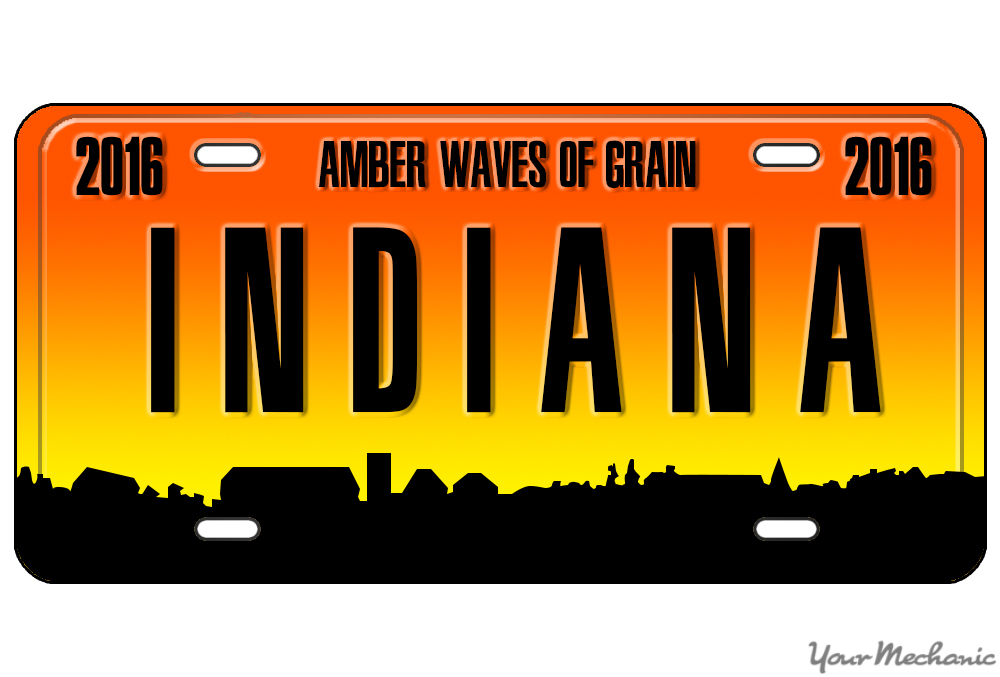 How to Buy a Personalized License Plate in Indiana | YourMechanic Advice