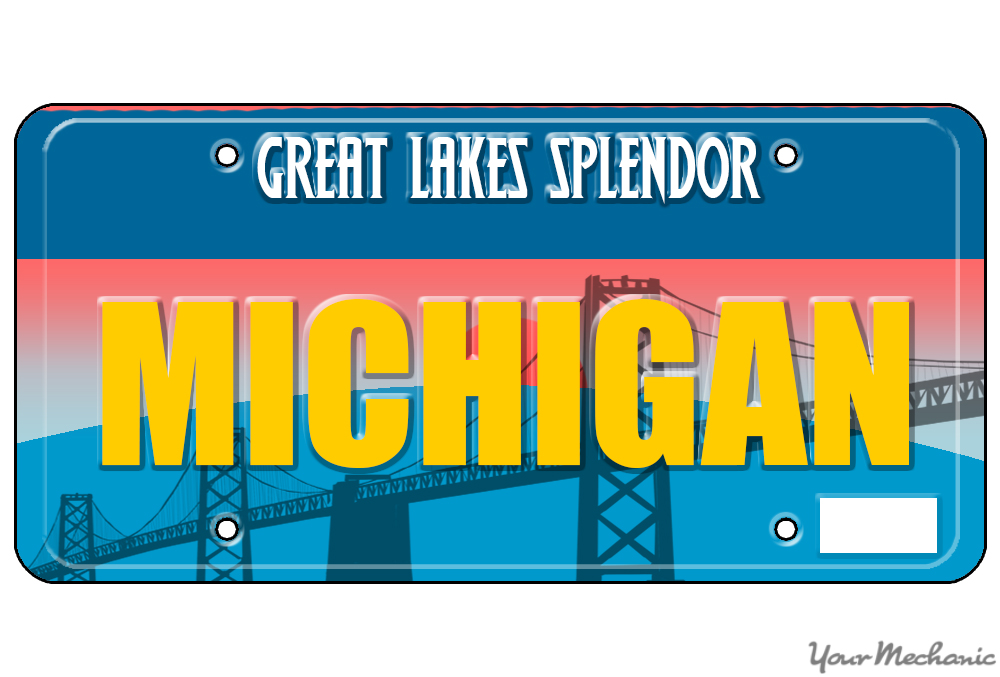Michigan plate