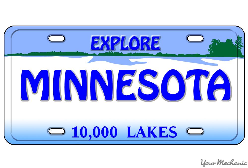 Minnesota plate