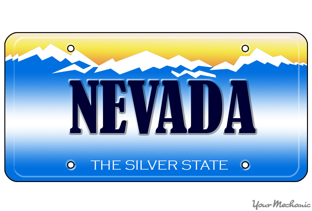 How To Buy A Personalized License Plate In Nevada
