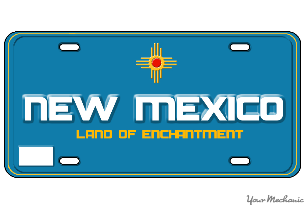 how to buy a personalized license plate in new mexico yourmechanic