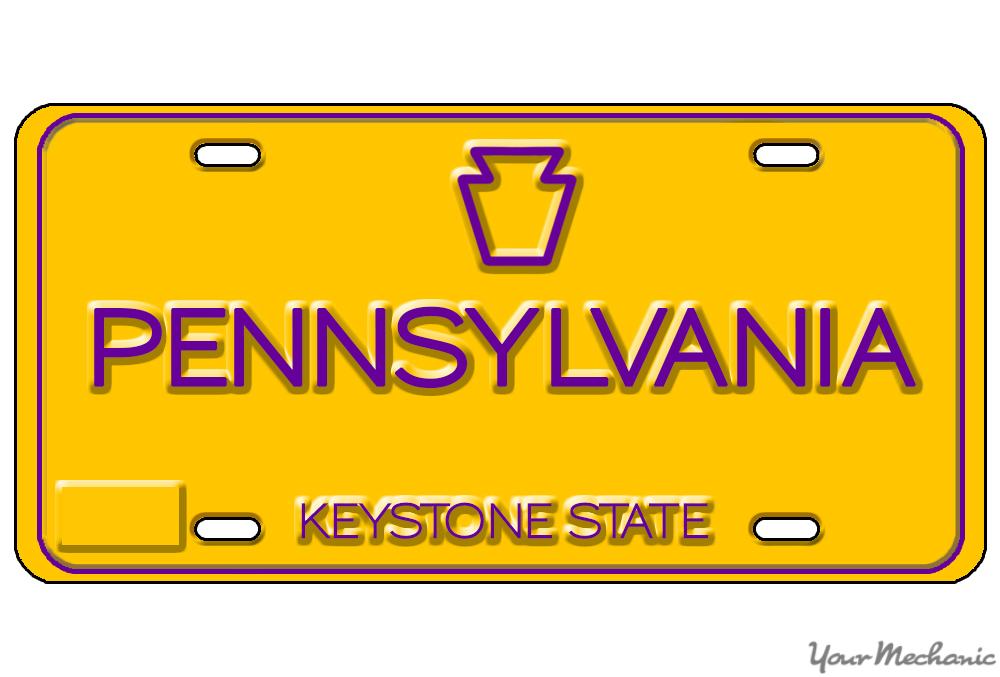 pennsylvania plate