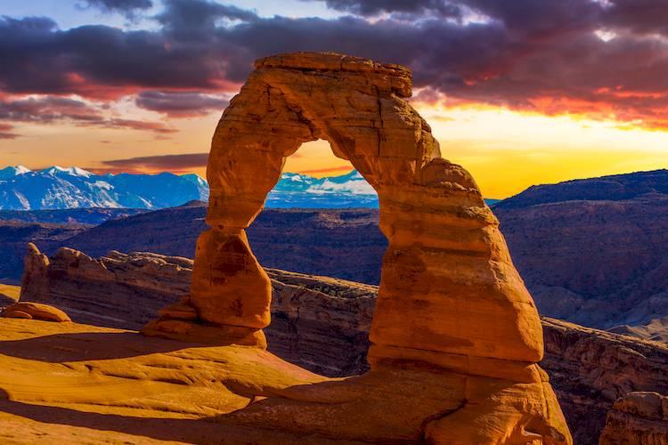 scenic rock in utah