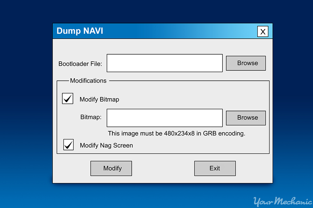 dumpnavi software