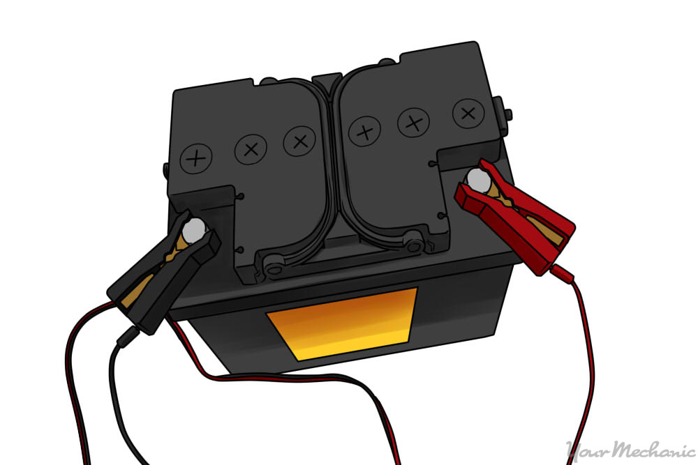 What Colour Is Positive And Negative On A Car Battery