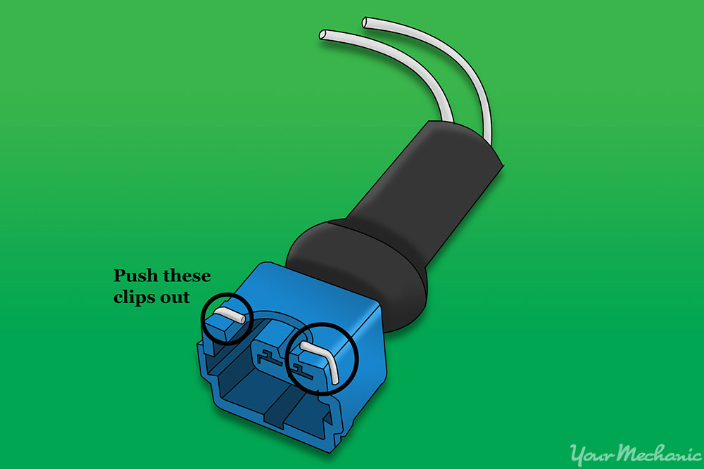 cold start injector, bosch style electrical connector