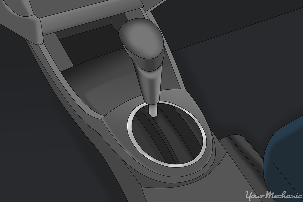 typical console shifter