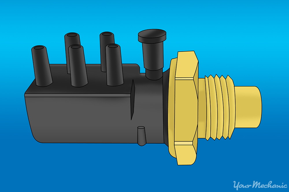 How to Replace a Coolant Vacuum Valve Switch 1