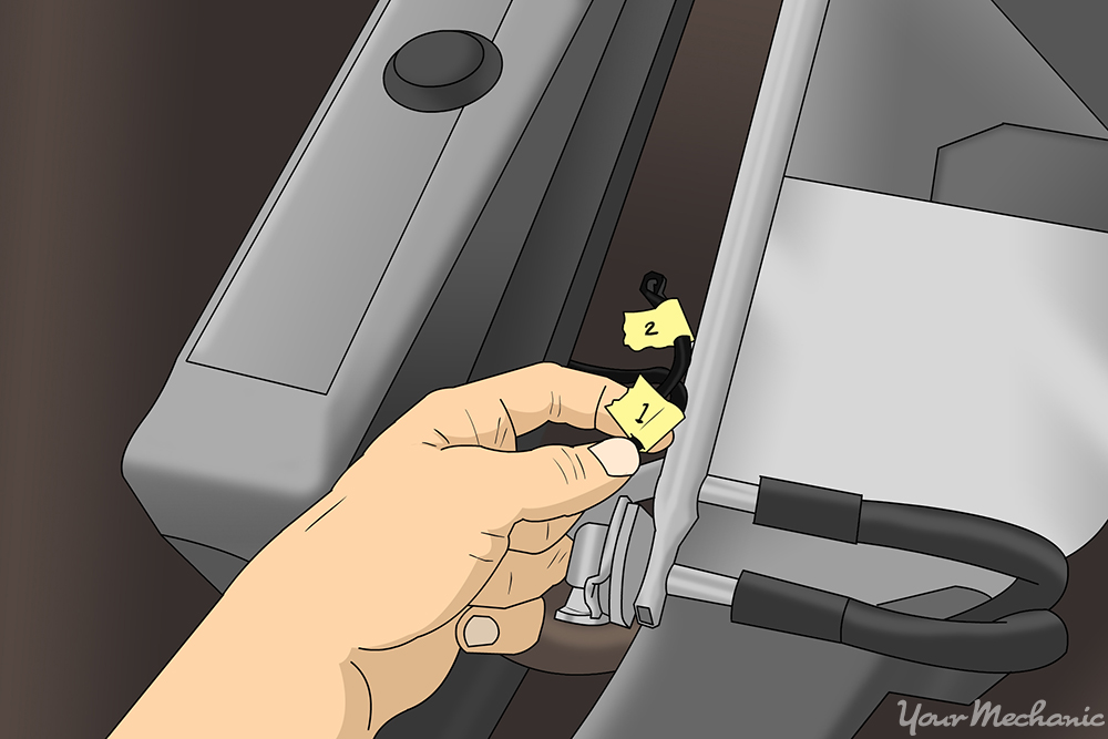 How to Replace a Coolant Vacuum Valve Switch 4
