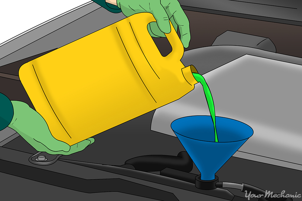 How to Replace a Coolant Vacuum Valve Switch 9
