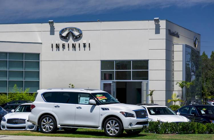 infiniti buena be park will street your and a south car dealership on ca cerritos dealer turn new infinity right immediate is onto