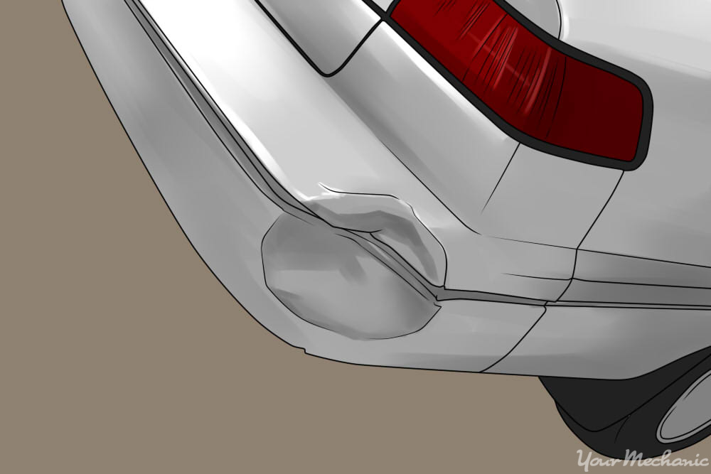 how to use hair dryer to remove a dent - dent in rear bumper