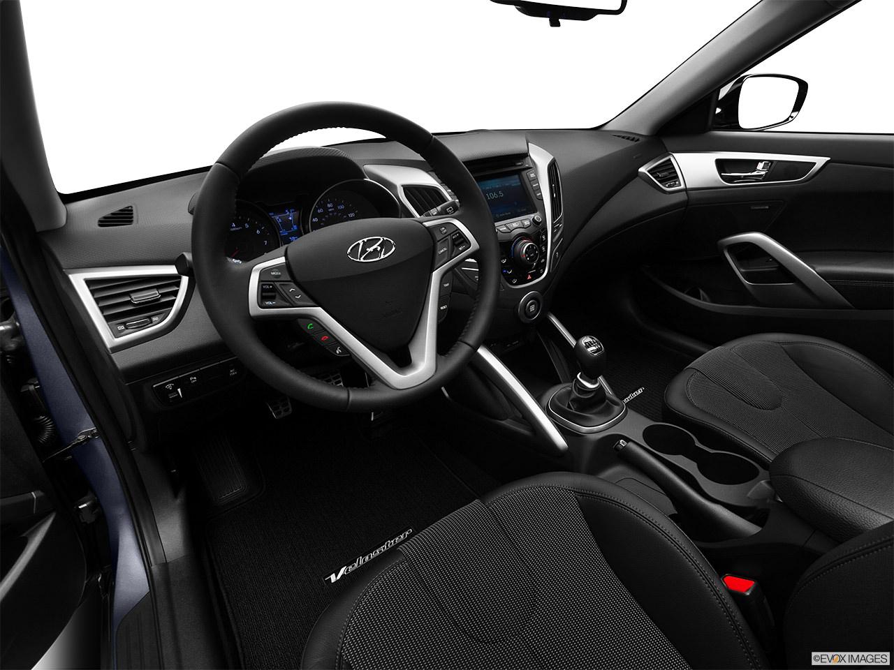 Hyundai Veloster 2012 Interior