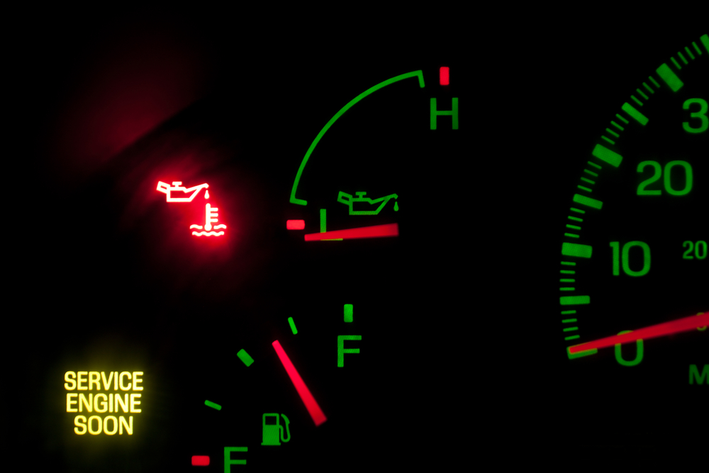 Is it Safe to Drive With the Oil Light On  YourMechanic Advice