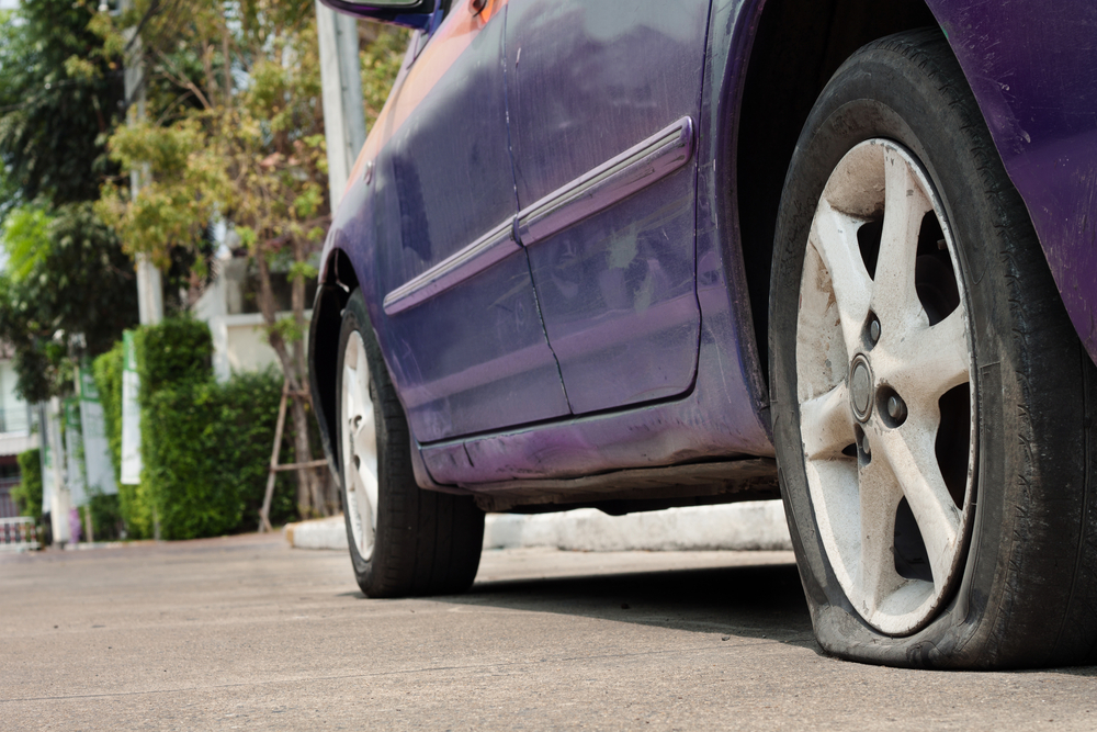 Tire has a slow leak