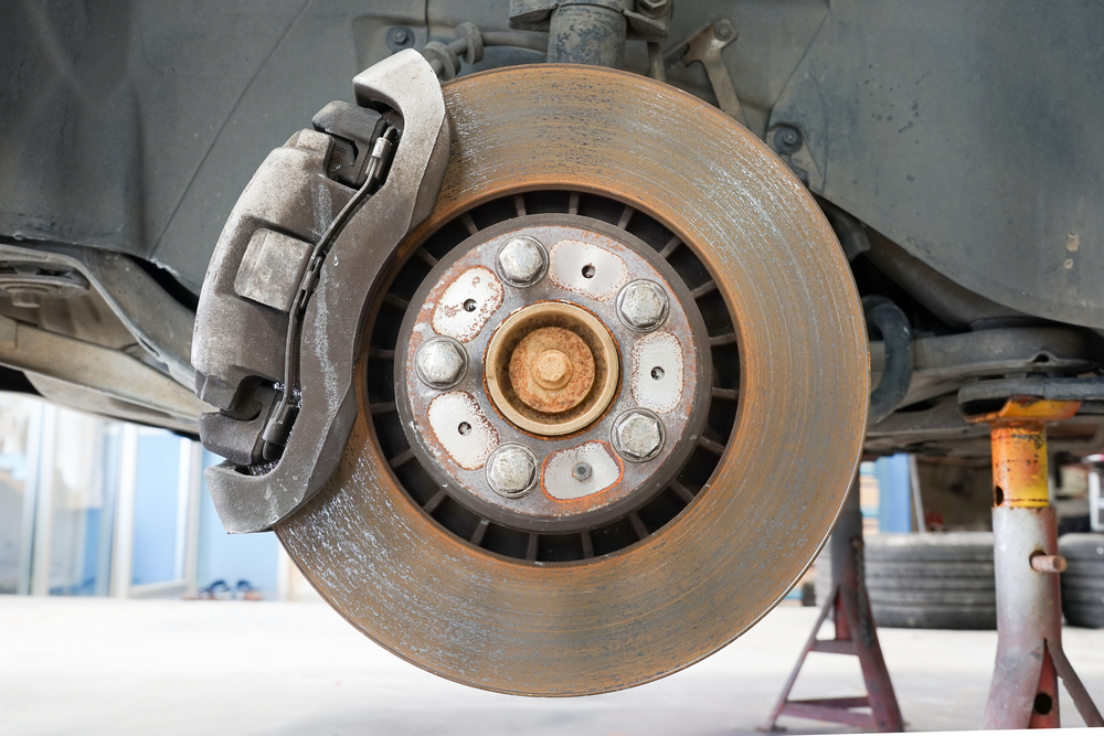 Images Of Bad Calipers : Is it safe to drive with a stuck caliper yourmechanic
