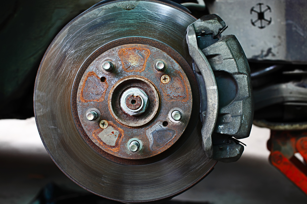 Images Of Bad Calipers : Is it safe to drive with warped rotors yourmechanic advice