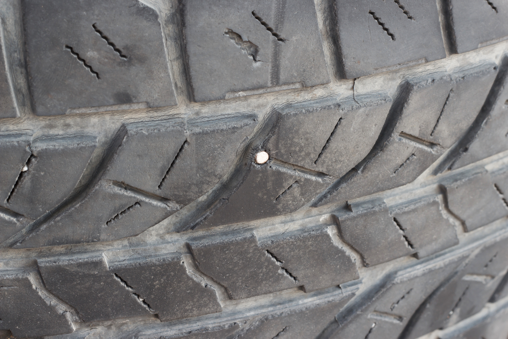 Is it Safe to Drive With a Nail in My Tire? | YourMechanic Advice