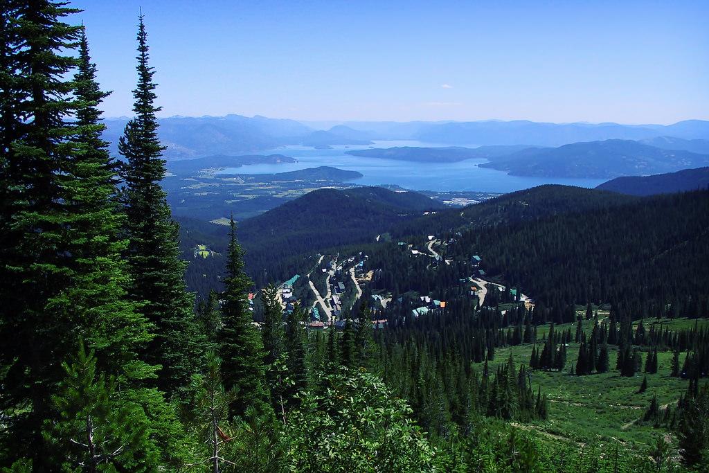 International Selkirk Loop Idaho