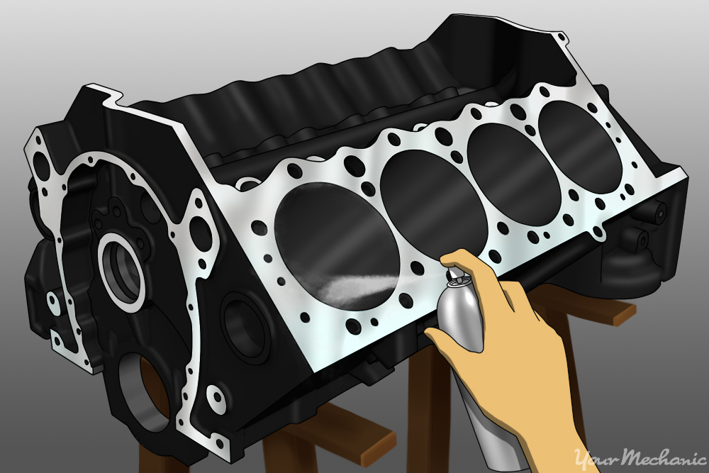 How to Prep an Engine Block for Paint | YourMechanic Advice