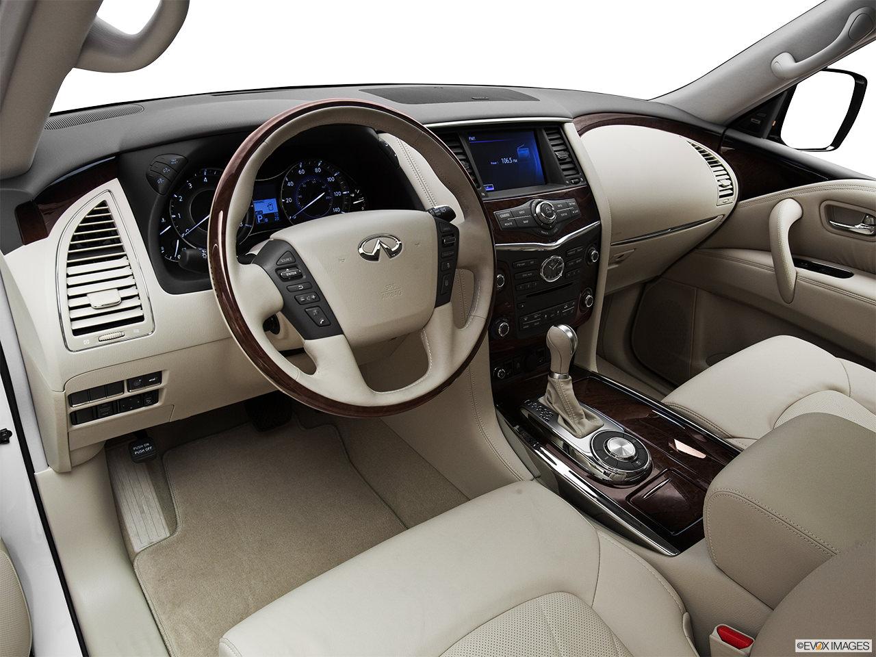 Infiniti Qx56 2012 interior