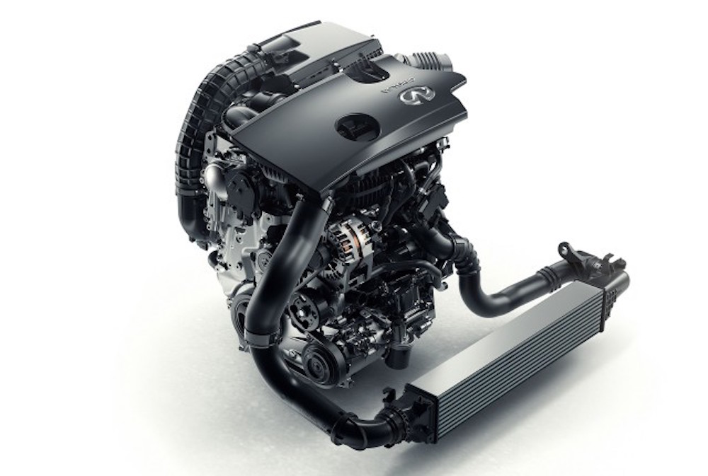 Infiniti variable compression engine