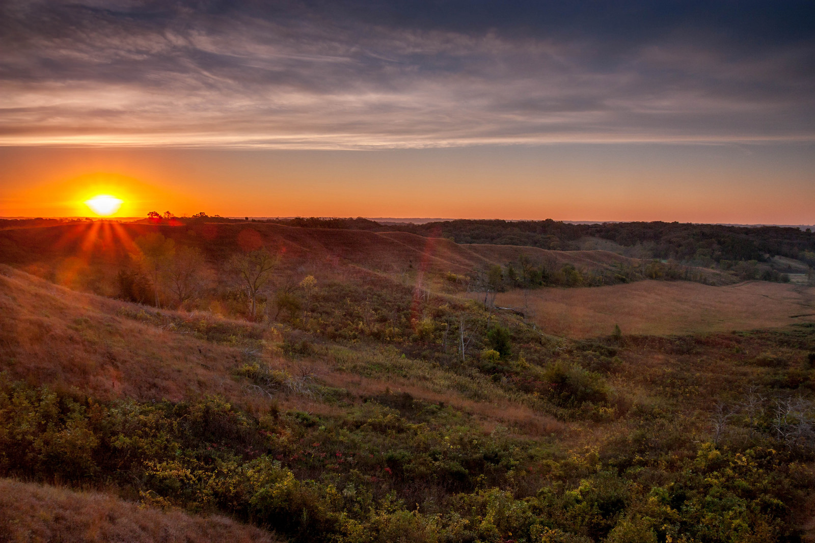 Loess Hills National Scenic Byway Iowa