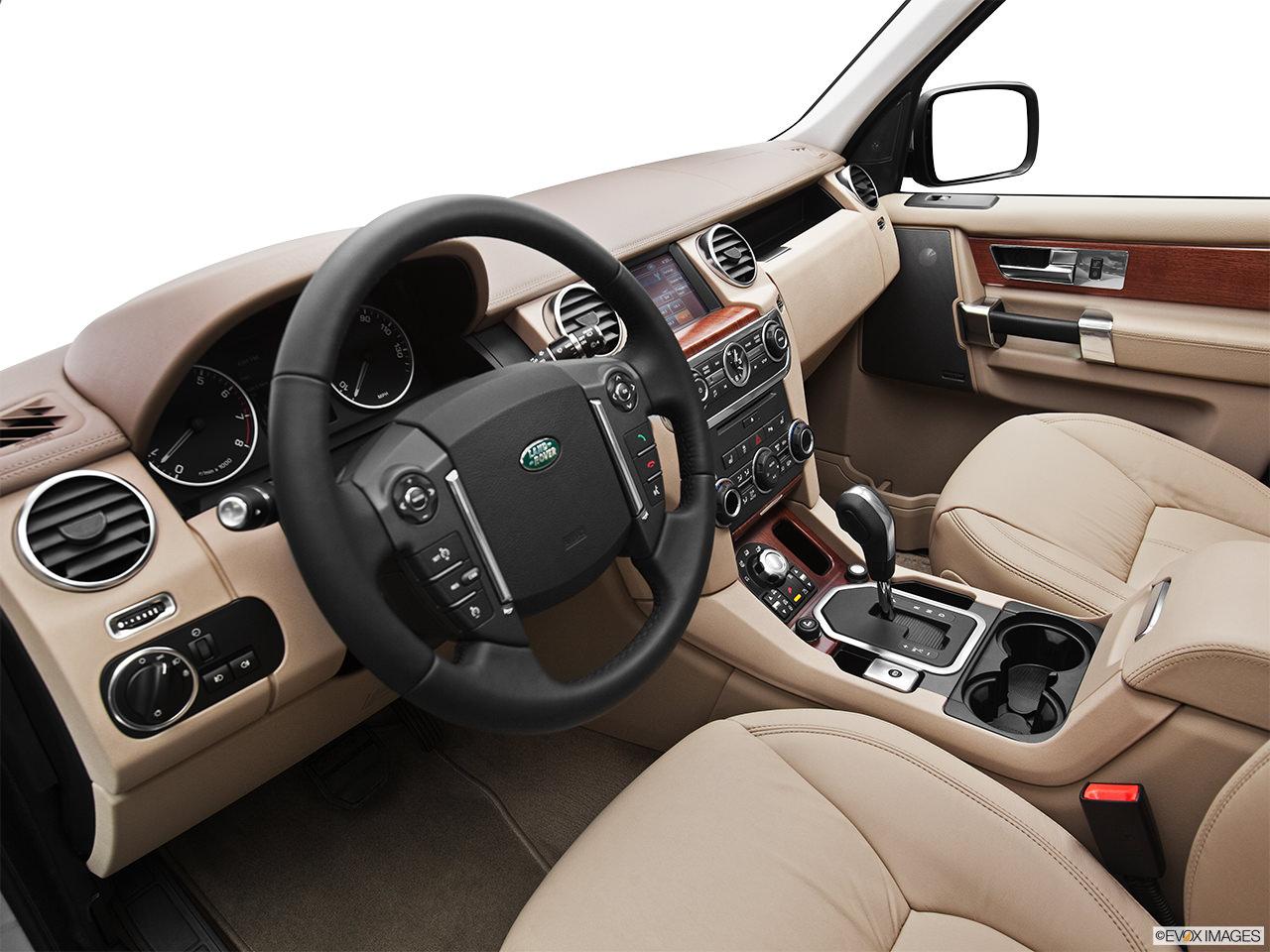 Land Rover LR4 2012 Interior