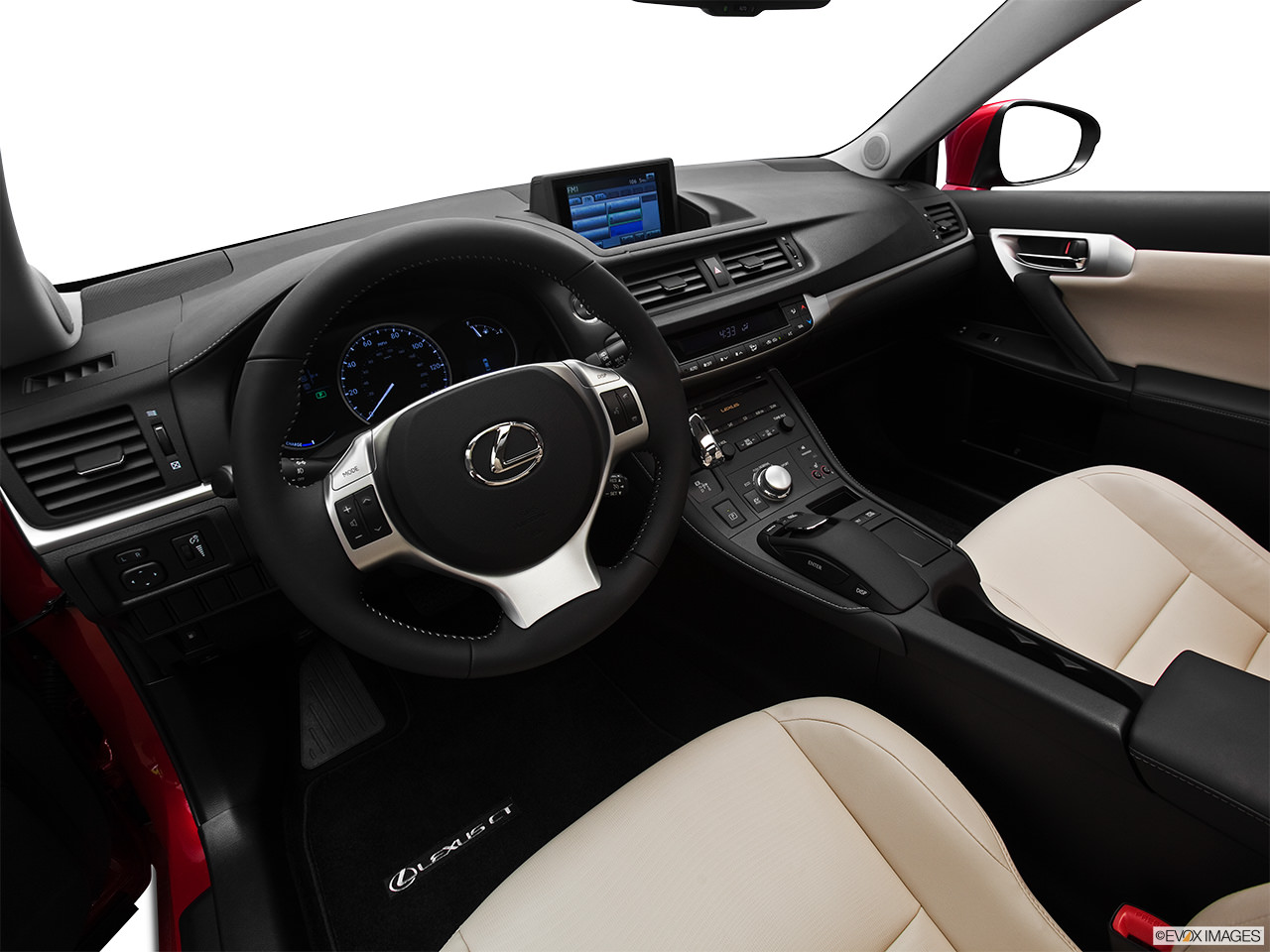 LExus CT200h 2012 interior