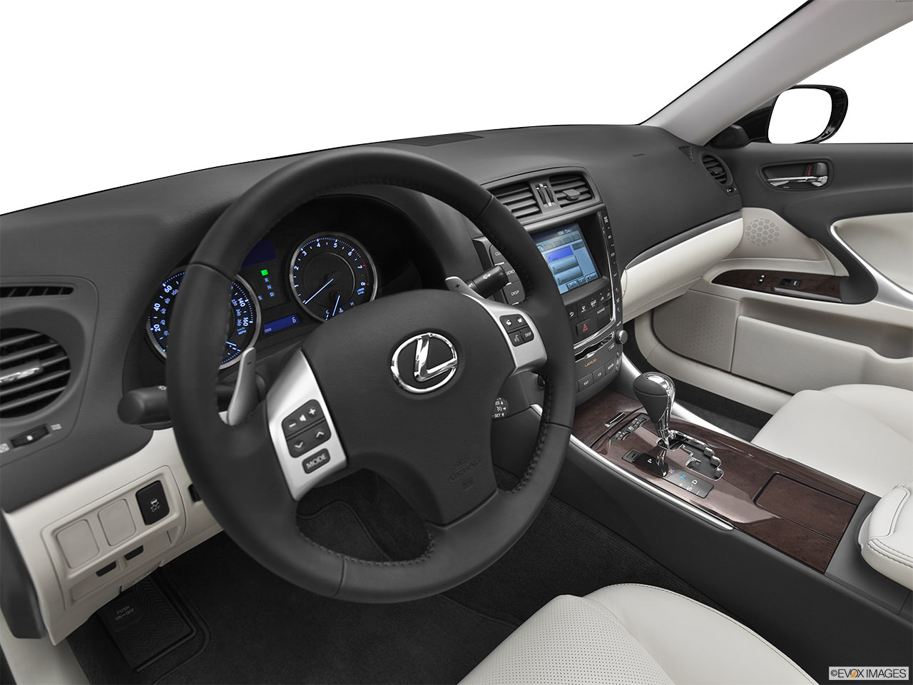 Lexus IS 2012 Interior