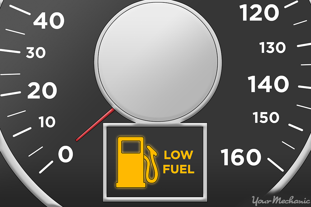 What Does the Low Fuel Level Warning Light Mean? | YourMechanic Advice