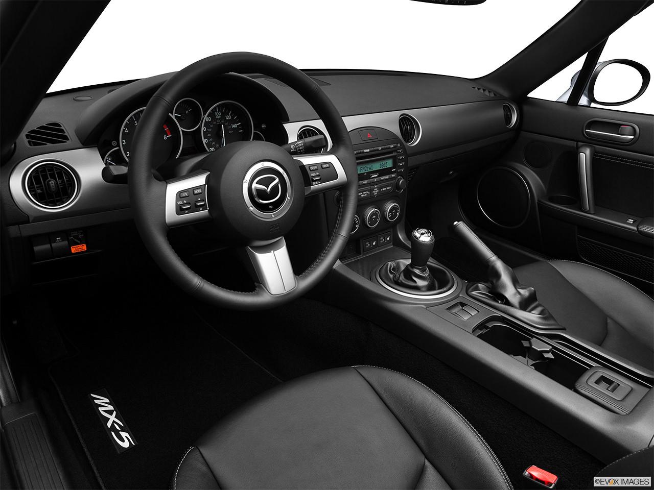 Mazda MX-5 Miata 2012 Interior