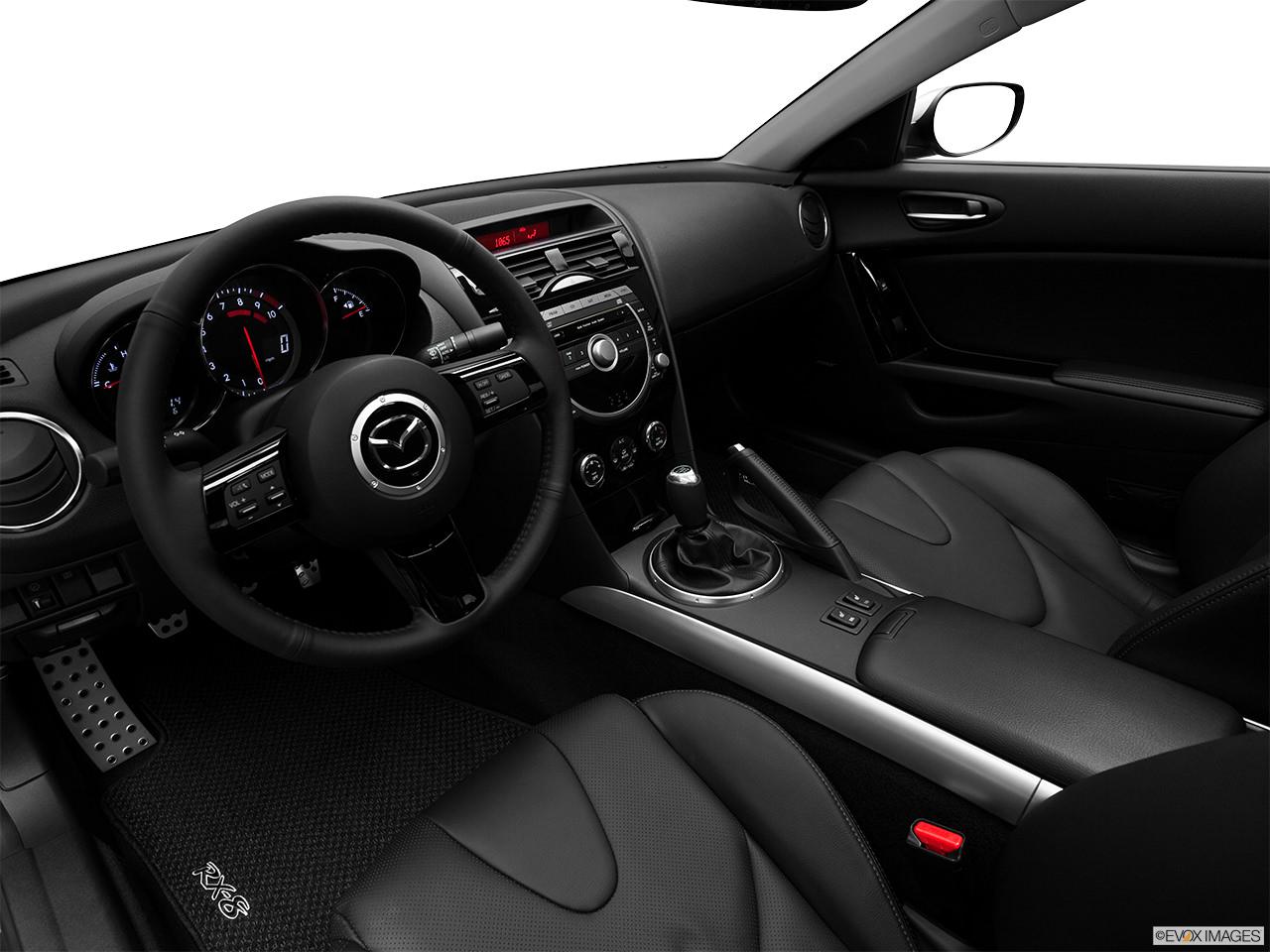Mazda rx-8 2011 interior