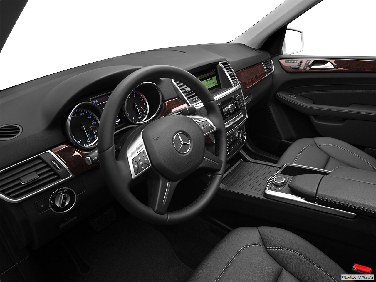 Mercedes M-Class 2012 Interior