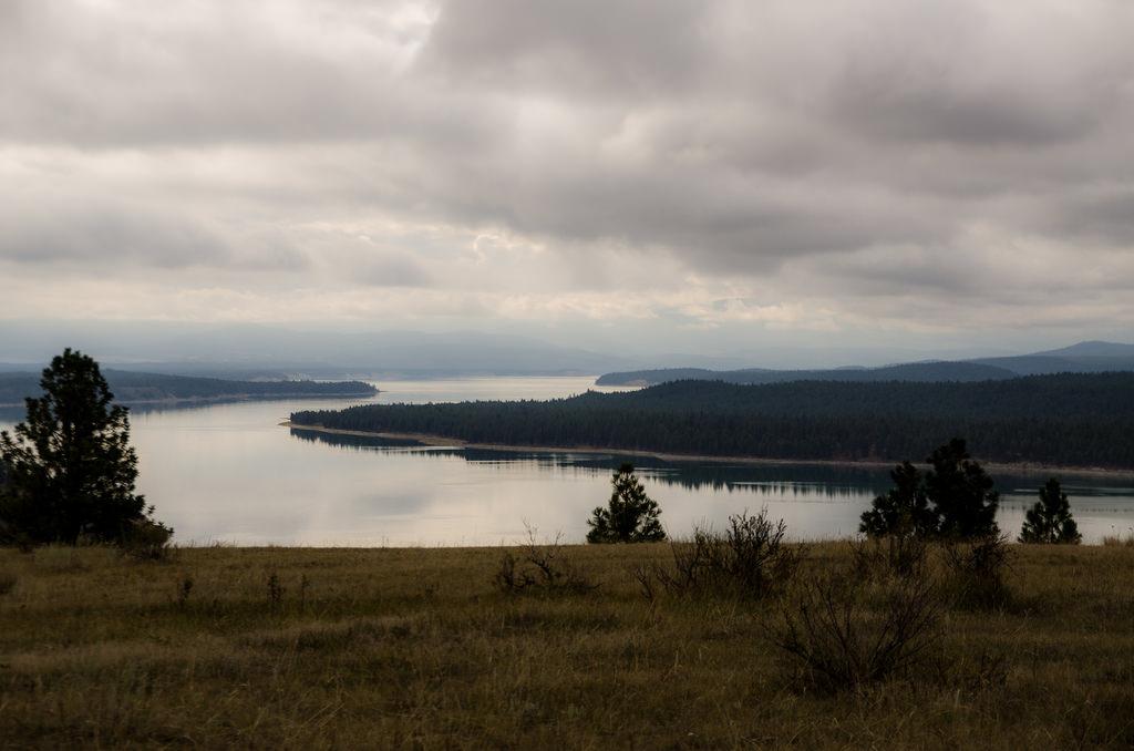 Lake Koocanusa Scenic Byway Montana