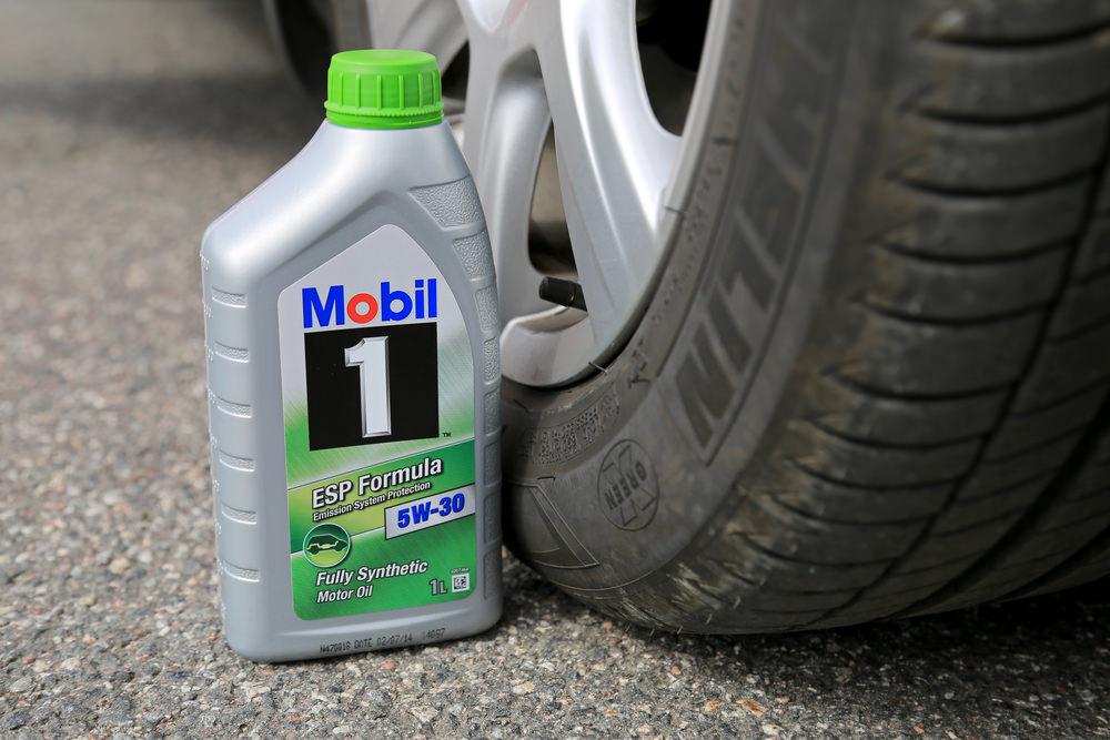 Motor Oil Label