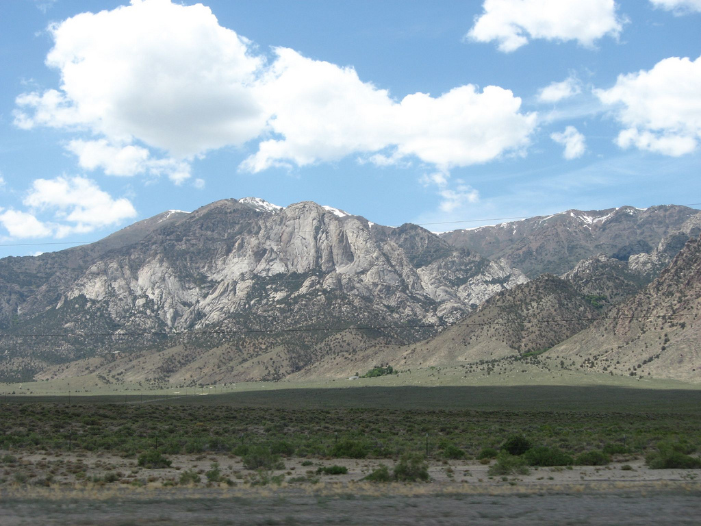 Big Smoky Valley Scenic Drive Nevada