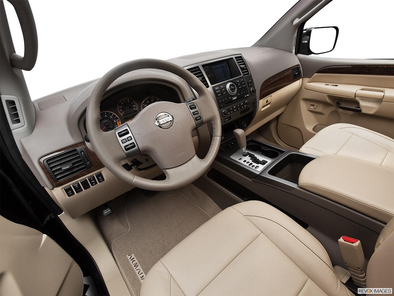 Nissan Armada 2012 interior